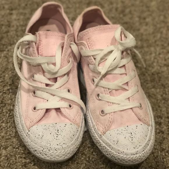 215d12d90ea Pink Converse AllStar sneakers